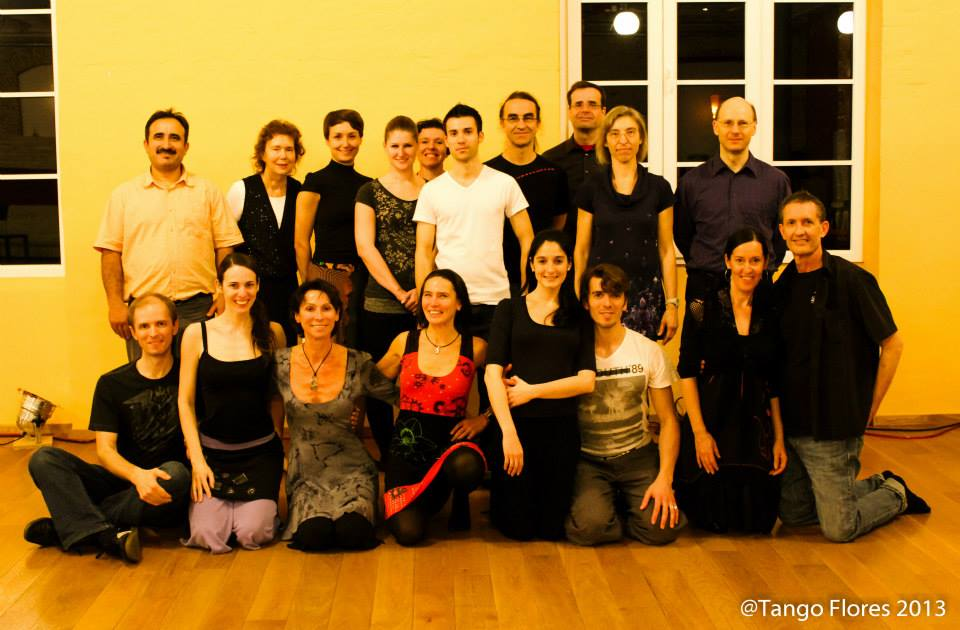 Workshops mit Sebastian und Eugenia